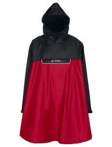 VAUDE Valero Poncho indian red Größ XL