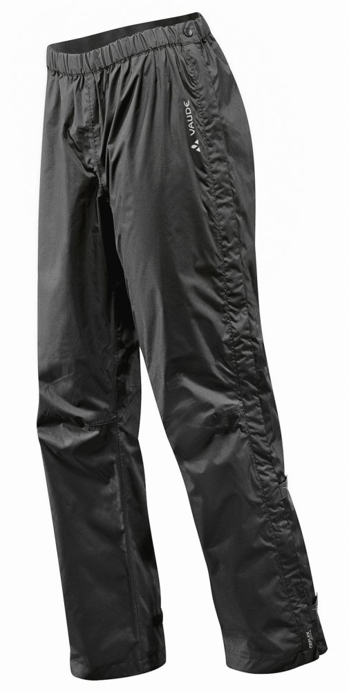 VAUDE Men's Fluid Full-zip Pants II S/S black Größ M-Short