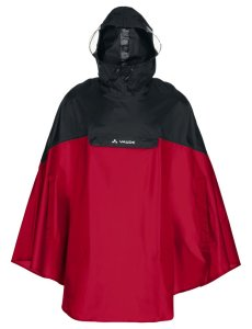 VAUDE Covero Poncho II indian red Größ XL